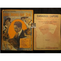 """Canadian Capers"" BY Gus Chandler, Burt White & Henry Cohen, ""When Dreams Come True"" With Joseph San"