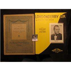 """Londonderry Air"" By Katharine Tynan Hinkson, ""Carnaval Schutt"" By Eduoard Schutt. Music Sheets."