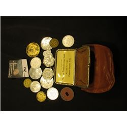 "Old Coin Purse ""Just Another Service From Pleasant Prairie Savings Bank 4% on Savings Pleasant Prair"