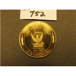 """Guardian of the Gulch/Helena/Montana/Official Souvenir Gold Piece"", rev. ""City of Helena/Lewis & Cl"