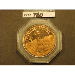 """Tombstone, Arizona/A.T./1975"", ""Tombstone Commemorative Series Issue…"", proof, 39mm, encased."