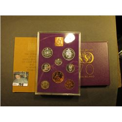 1970 United Kingdom Proof Set. In original box and case of issue. (8 pcs.).