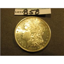 1880 S Morgan Silver Dollar. Uncirculated.
