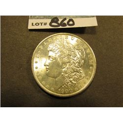 1900 O Morgan Silver Dollar. Uncirculated.