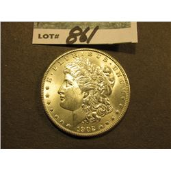 1902 O Morgan Silver Dollar. Brilliant Uncirculated.