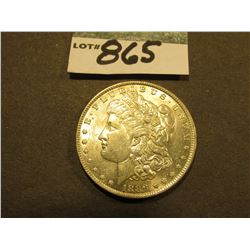 1886 P Morgan Silver Dollar. Uncirculated.