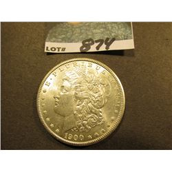 1900 P Morgan Silver Dollar. Uncirculated.