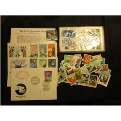1989 Fleetwood Folder with Various Covers, Stamps, etc.