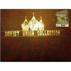 Album full of Soviet Union Stamps, Covers, and etc. Lots of Mint condition.