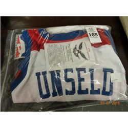 Unsealed Autographed Jersey