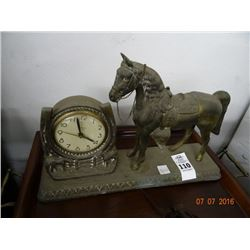 Carmody Horse Mantle Clock