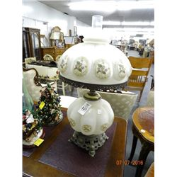 2 Painted Hurricane Style Lamps - 2 Times the Money