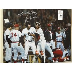 Lou Pinella Autographed Photo