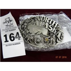 North to Alaska Belt Buckle