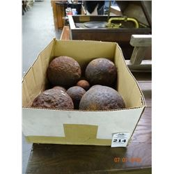 Box of Cannon Balls- No Shipping