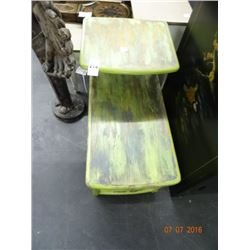 Decorative 2 Tier End Table