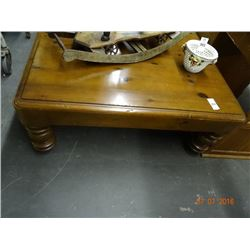 Knotted Pine Square Coffee Table