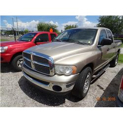 2005 Dodge Ram 1500 Crew Cab Short Bed Pick Up