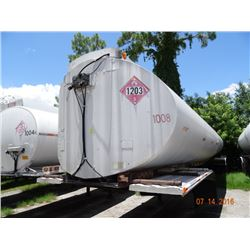 1976 Trailmobile Appx. 9000 Gal. Cap. Semi Fuel Tanker Trailer