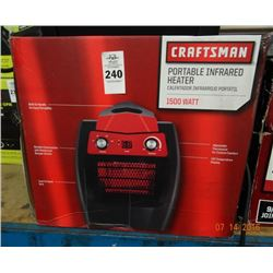 4 Craftsman Portable Heaters - 4 Times the Money - Return