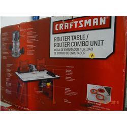 Craftsman Router Table Combo Unit - Return