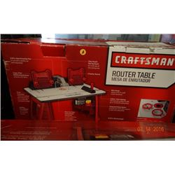 Craftsman Router Table -Return