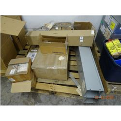 Pallet Lot of Electric Hardware & Springs