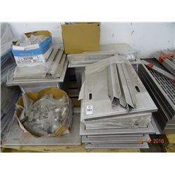 Pallet Lot of Aluminum Boxes
