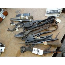 Lot of Metal Cutting Tools