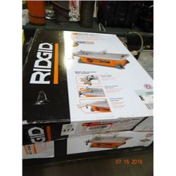 Ridgid Portable Wet Tile Saw - Return