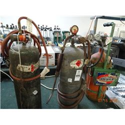 3 Acetylene Tanks - 3 Times the Money