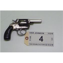 IVER JOHNSON , MODEL: 1900 DOUBLE ACTION , CALIBER: 32 S & W