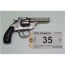 IVER JOHNSON , MODEL: SAFETY HAMMER AUTOMATIC 2ND MODEL , CALIBER: 32 S & W
