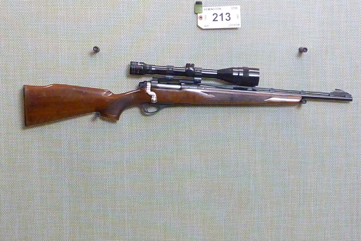 Image 1 : REMINGTON , MODEL: 600 , CALIBER: 222 REM ...