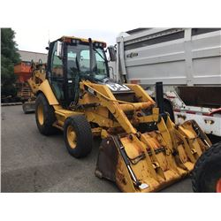 2009 Caterpillar 420e Backhoe Yellow Vin Cat0420ecpra00659