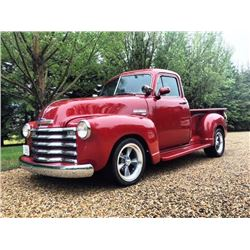 2:00 PM SATURDAY FEATURE! 1953 CHEVROLET 3100 5-WINDOW PICK-UP