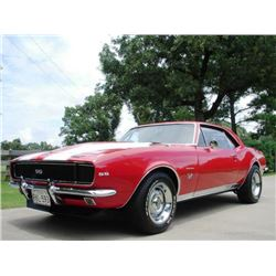 1:00 PM SATURDAY FEATURE! 1967 CHEVROLET CAMARO RS SS RESTO MOD