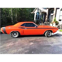 1:30 PM SATURDAY FEATURE! 1971 DODGE CHALLENGER R/T