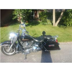 NO RESERVE! 2000 HARLEY DAVIDSON ROAD KING