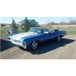 4:00 PM SATURDAY FEATURE! 1967 CUSTOM CHEVROLET IMPALA CONVERTIBLE