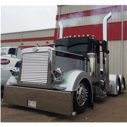 4:30 PM SATURDAY FEATURE! 1993 PETERBILT 379 TANDEM TRACTOR TRUCK