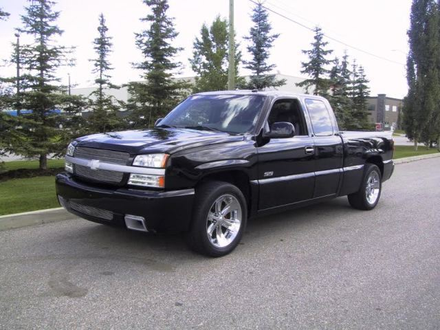 2003 chevrolet silverado ss truck. Black Bedroom Furniture Sets. Home Design Ideas
