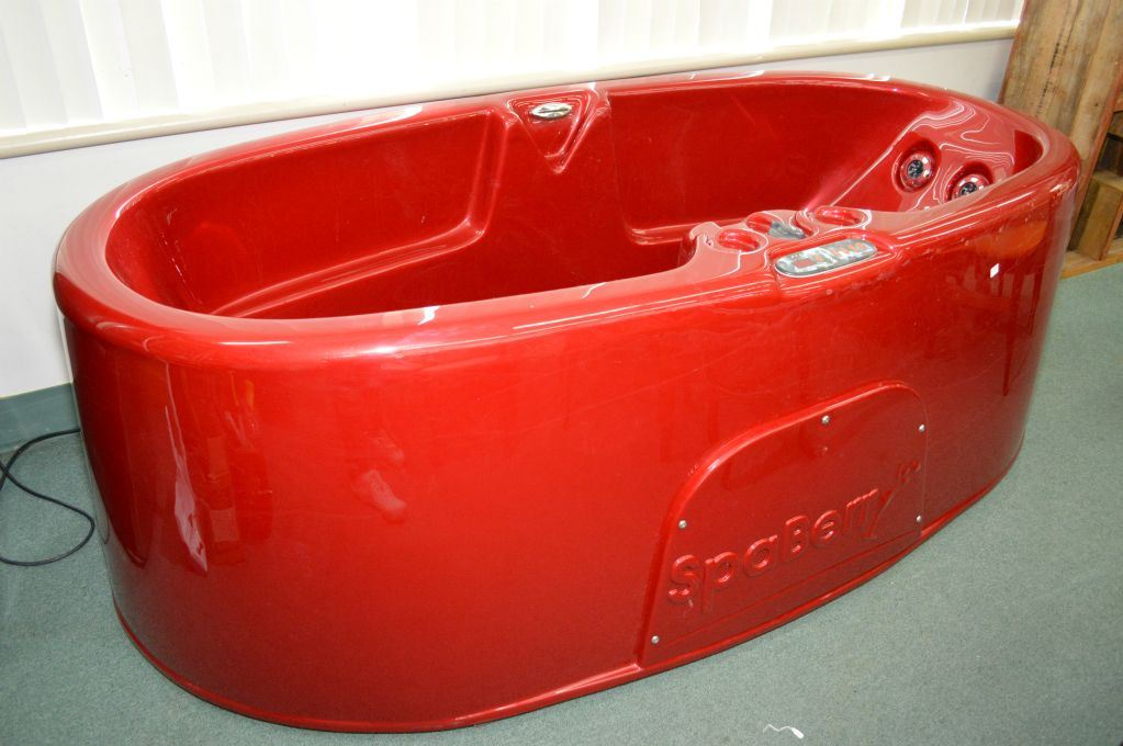Charming Spaberry 3.1 Strawberry Two Person Hot Tub 110 Volt Portable Hot Tub.  Loading Zoom