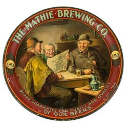 The Mathie Brewing Co. Beer Tray