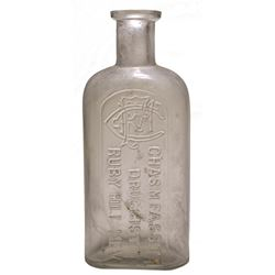 Chas. M. Fassitt, Druggist Bottle