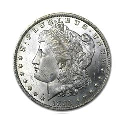 1885-O$1MorganSilverDollarUncirculated