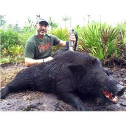 1 1/2-day Florida Wild Boar hunt for 4 Hunters