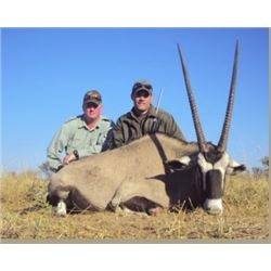 9-day Namibian Hunting Safari for Two Hunters