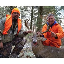 5-day/5-night Missouri Whitetail Deer and Turkey Archery Hunt for Two Hunters