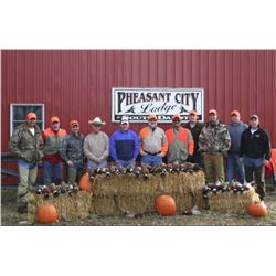 2-days/2-nights South Dakota Pheasant Hunt for Two Hunters (Bring Two Additional Hunters)